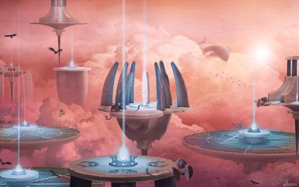 Illustration 1 - Cloud city - Alnom cys